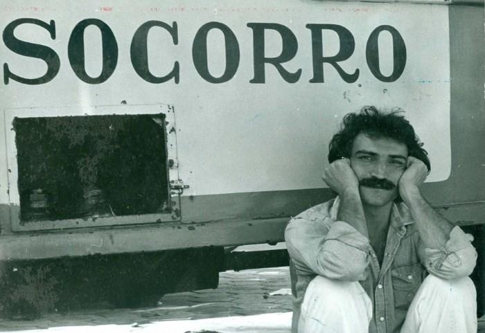 Musico Belchior em 1977.  FOTO DIVULGAÇÃO.